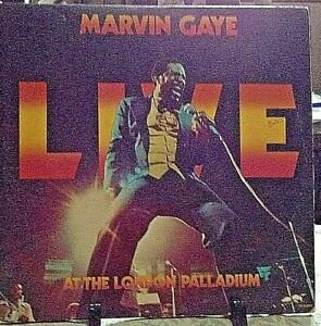 MARVIN GAYE Live At The London PALLADIUM Released 1977 Vinyl/Record Album