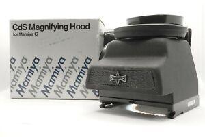 RARO-Nuovo-di-zecca-con-scatola-Mamiya-CD-CAMINO-ingrandimento-Hood-FINDER-C220-C330-Giappone