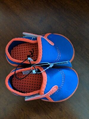 juDanzy co-zy soles prewalker nautical anchor boy baby shoes  0-3 months  NEW