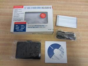 adaptec 2188700 acs 120 2 5 usb 2 0 hard drive enclosure kit rh ebay com