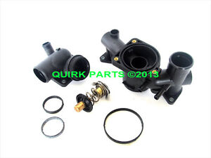 Oem new thermostat housing unit kit w gaskets o rings 2003 2006 image is loading oem new thermostat housing unit kit w gaskets publicscrutiny Choice Image