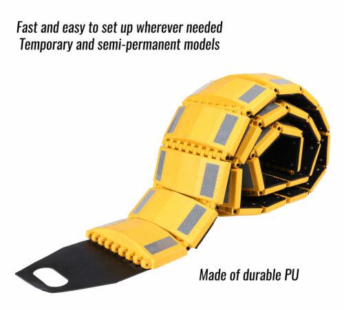 RK Safety RK-PSH10 PU Portable Folding Traffic Control Calming Speed Bump 10/' L