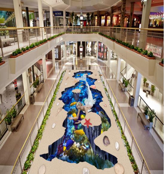 3D Sea starfish 3523  Floor WallPaper Murals Wall Print Decal 5D AJ WALLPAPER