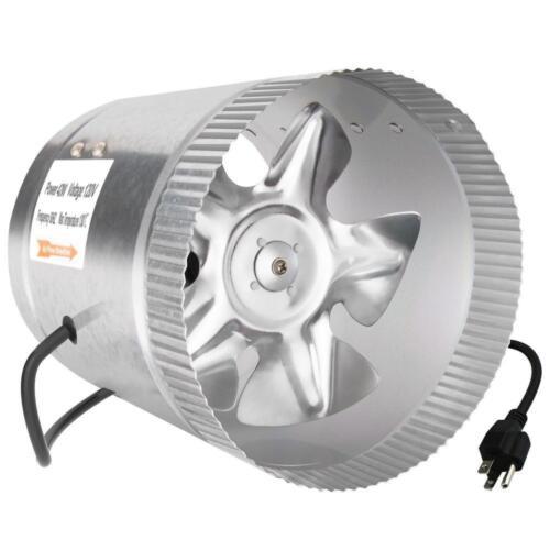 IPower glfanxbooster 8 8 in environ 20.32 cm 420 CFM Booster Ventilateur Inline conduit d/'aération Ventilateur...