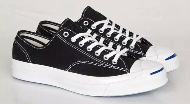 e264531c1985 Converse Jack Purcell Signature Ox SNEAKERS Black Size 11 Style 147560c for  sale online