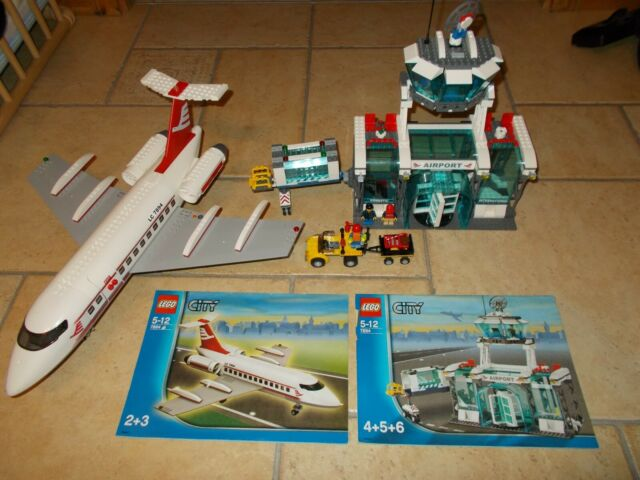 lego city airport 7894 ebay