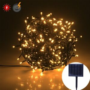 Image Is Loading Rpgt Solar String Lights 500led Usb Charging Fairy