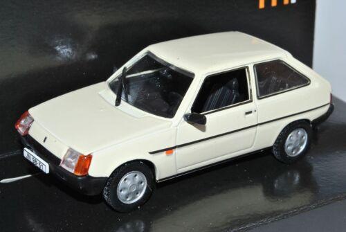 ZAZ 1102 Tavria 3 puertas blanco beige 1//43 Nash avtoprom modelo coche con o Oh...