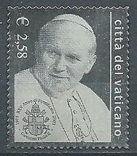 2003 VATICANO FRANCOBOLLO D'ARGENTO GIOVANNI PAOLO II - ED