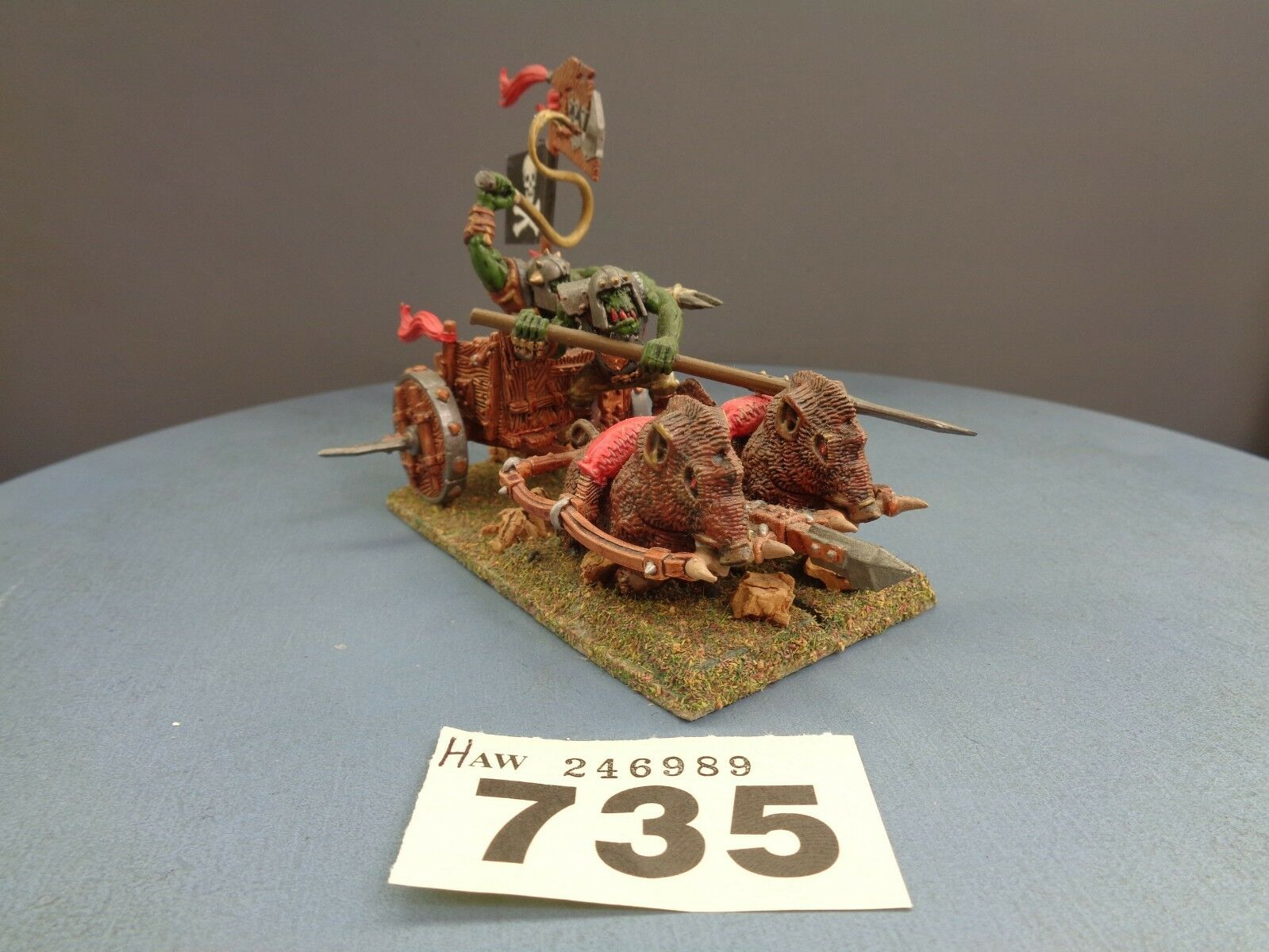 Warhammer Age of Sigmar Orruks Orcs Goblins Boar Chariot 735