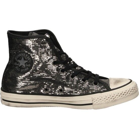 Converse All Star CTAS Distressed Hi Scarpe Alte Donna 559044C Nera nero