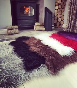 Soft-Fluffy-Faux-Fur-Sheepskin-Rug-Non-Slip-Rubber-Shaggy-Bedside-Sheepskin-Mat