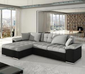 Corner Sofa Bed Diana With Storage
