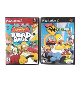 The Simpsons: Hit & Run, Road Rage (Sony PlayStation 2) CIB, Complete, *TESTED*