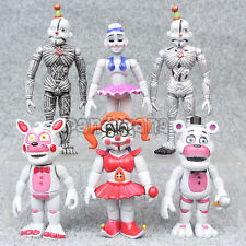 "New 3.9""/10cm Five Nights at Freddy's FNAF Sister Location Figure Set - 6pcs"