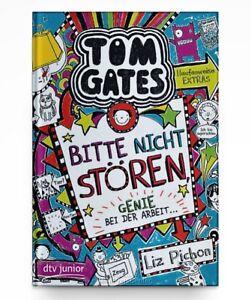 Tom Gates, Bd. 8: Bitte nicht stören, Genie bei der Arbeit * Taschenbuch Neu
