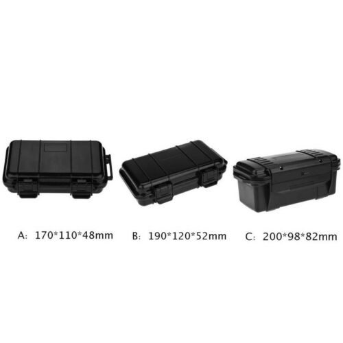 Waterproof Sealed Safety Case ABS Plastic Tool Holder Outdoor Shockproof Dry Box