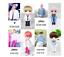 miniature 1 - Kpop BTS RM Jin Suga JHope Jimin V Jungkook lastic Dressing Doll Toy  BANGTAN