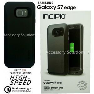 save off 6ccf0 3d3a5 Details about INCIPIO Samsung Galaxy S7 EDGE offGRID External Backup  Battery Case, SA-759-BLK