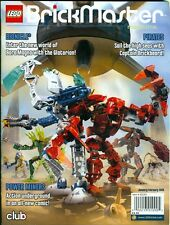 2009 Lego Brickmaster Magazine: New World Of Bionicle/ Lego Pirates/ Comics