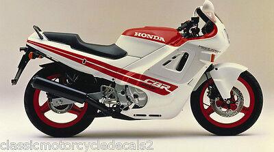 HONDA CBR600F CB600FJ JELLY MOULD 1988 DECAL SET 3