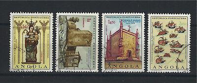 500 Geburt Anniv Von Pedro Cabral Mi 554-557 Gestempelt Weich Und Leicht Treu Angola 1968