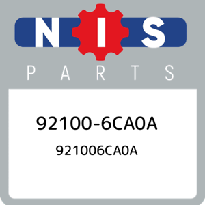 92100-6CA0A-Nissan-921006ca0a-921006CA0A-New-Genuine-OEM-Part