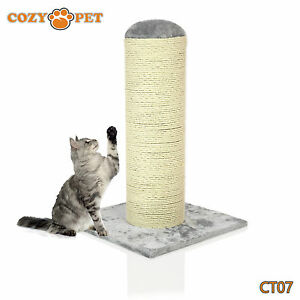 Cozy-Pet-Deluxe-Cat-Tree-Sisal-Scratching-Post-Quality-Cat-Trees-CT07-Grey