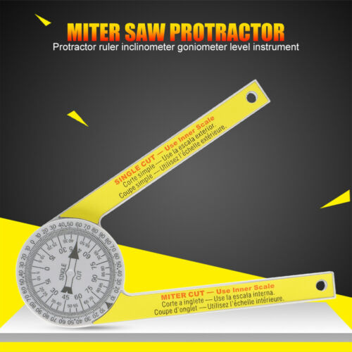 505P-7 Miter Saw Protractor Pro Site Series Miter//Single Cut