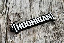 HOONIGAN keychain HOON black ken block monster gymkhana auto car keyring JDM