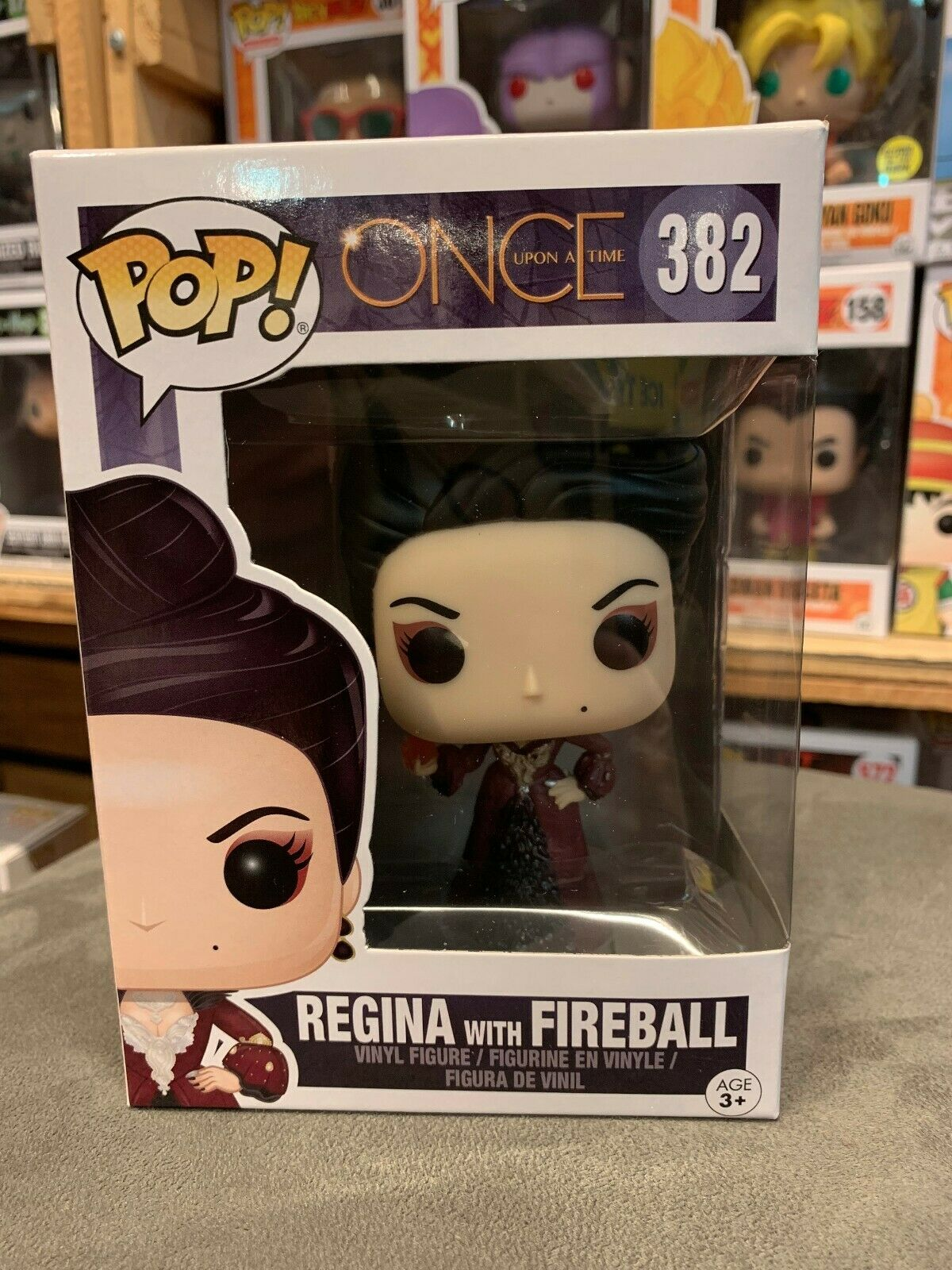 Once Upon A Time Regina with Fireball Funko Pop Vinyl EXPERT PACKAGING