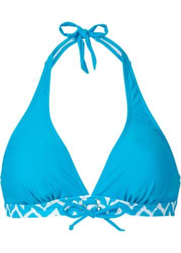 BPC Donna Bikini Top Push Up Con Allacciatura Al Collo Costumi da bagno turchese 36//70 912305