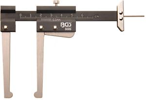Bremsscheiben Verschleiß messen Bremsscheibenstärke Messchieber Scheibenbremse