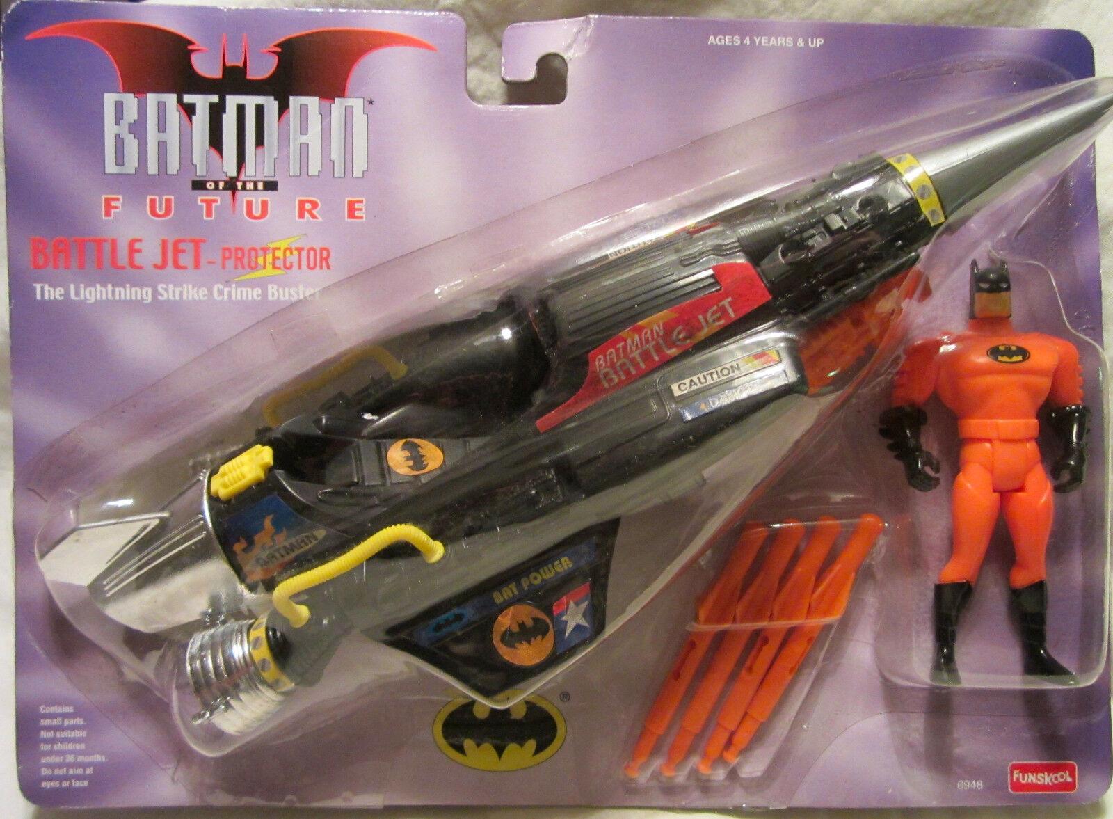 Batman Of The Future Battaglia Jet-Protector Funskool Nuovo