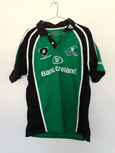 Connacht-Green-Rugbytech-Training-Bank-Of-Ireland-Rugby-Jersey-Size-L