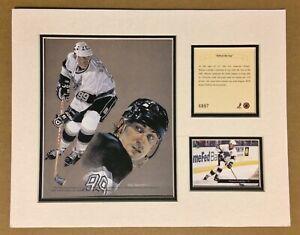 Los Angeles Kings WAYNE GRETZKY 1994 Hockey 11x14 MATTTED Kelly Russell Print