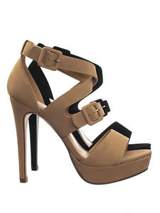 Blinky-High-Heel-Platform-Open-Toe-Cage-Dress-Sandal-w-Double-Buckles