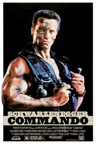 "Commando B2G1F Movie Collector/'s Poster Print 11/"" x 17/"""