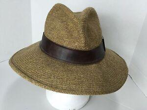 SDC Vintage Mens Fedora Hat Bloomingdale s Men s Store 1950 s M-L  280bd7c7ab6