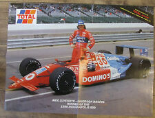 ARIE LUYENDYK SHIERSON RACING WINNER 1990 INDIANAPOLIS 500 POSTER