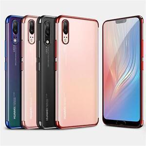 Silikon-Klar-Case-fuer-Huawei-p20-Lite-Ultra-Slim-Stossfeste-Gel-Rueckseite