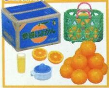 Re-ment #9 miniature Local Produce delivery oranges& orange juice