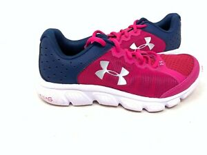 NEW Under Youth Girl/'s Micro G Assert Running Shoes Nvy//Pn #1266320-654 148J tz
