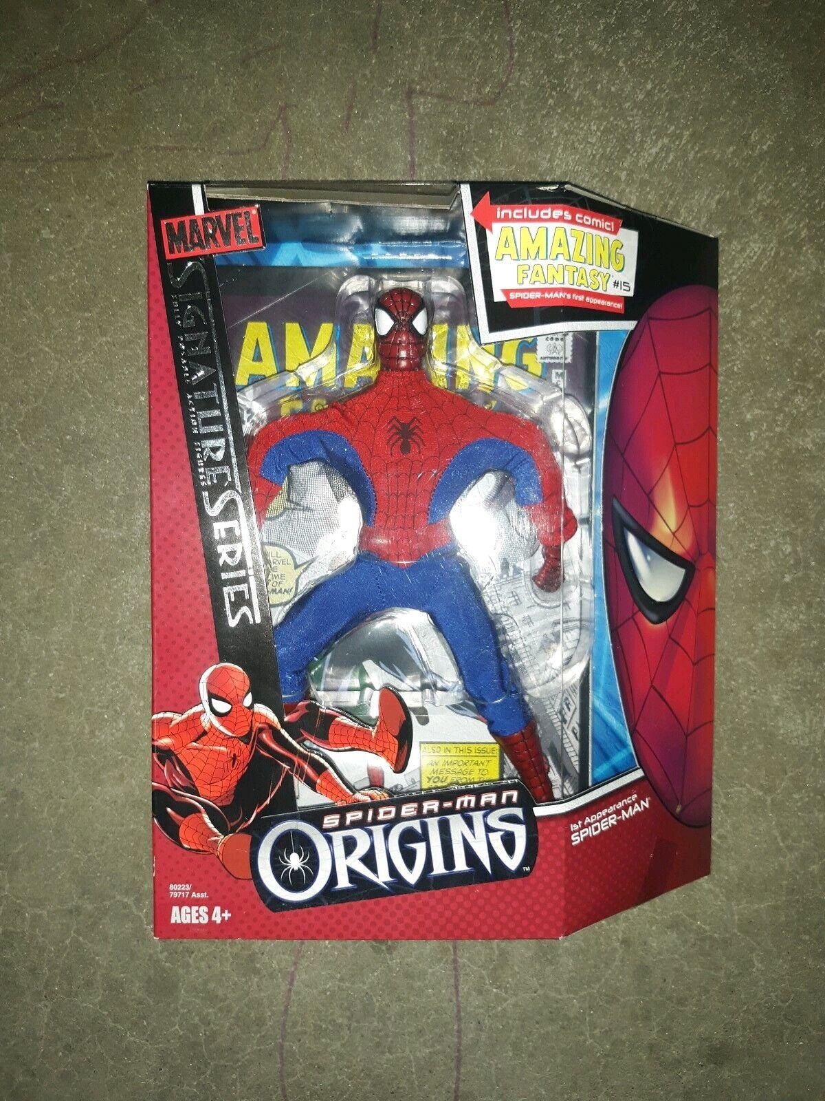 2006 Hasbro SPIDERMAN Origins Signature Series MIB MIB MIB MOC Amazing Fantasy 15 Comic 24a442