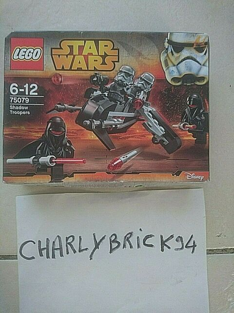 LEGO Star Wars 75079 Shadow troopers neuf scellé | New sealed