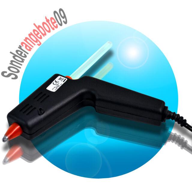 HEIßKLEBEPISTOLE mit 8mm Sticks 10W KLEBEPISTOLE Heisskleber McPower 10 WATT
