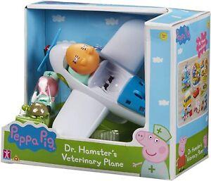 Peppa Pig Dr Hampster vétérinaire Avion Set Figurines & Accessoires Jouet Jeu