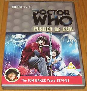 Doctor-Who-DVD-Planet-of-Evil-Excellent-Condition