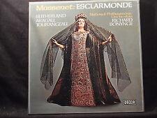 J. Massenet - Esclarmonde / Bonynge    3 LP-Box