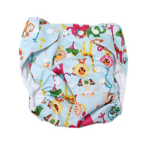 Baby  Stoffwindel ueberhose Windelhose Verstellbar Trainingshoeschen Mehrwe L6C7